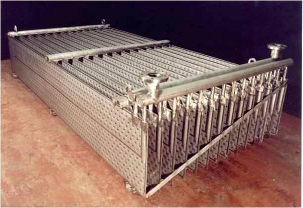 Погружные теплообменники толщина стенки кожуха теплообменника